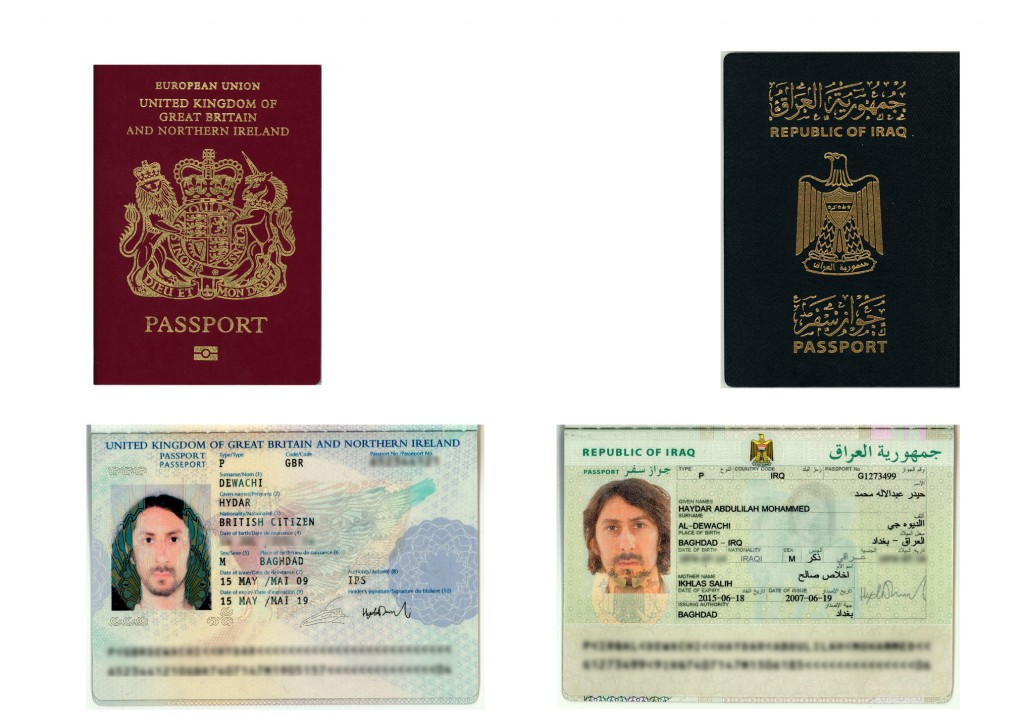 And so life begins with the dual nationality/ personality.