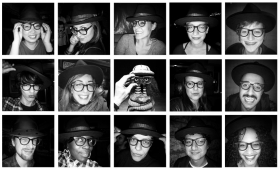 Strangers in my Hat and Glasses