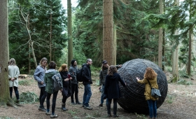 Jerwood Open Forst Alice Holt Visit